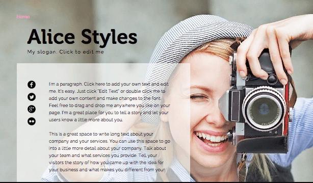 Thiết kế website giới thiệu cá nhân, tổ chức