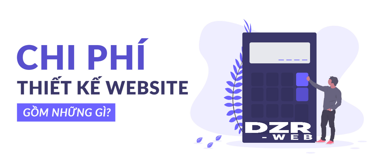 Chi phí thiết kế website.