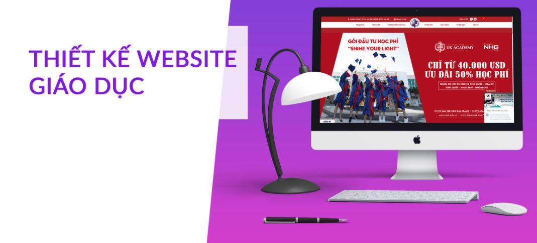 công ty thiết kế web giáo dục uy tín