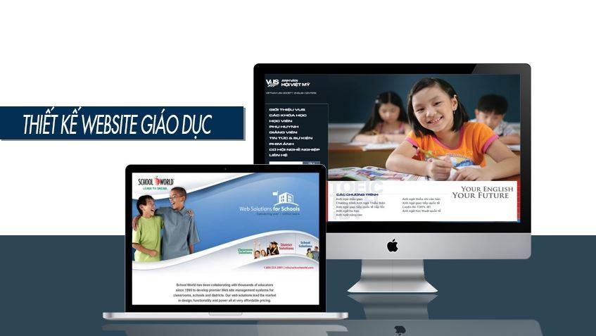 Lợi ích khi thiết kế website giáo dục