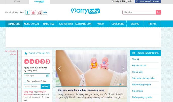 Trang web Marrybaby