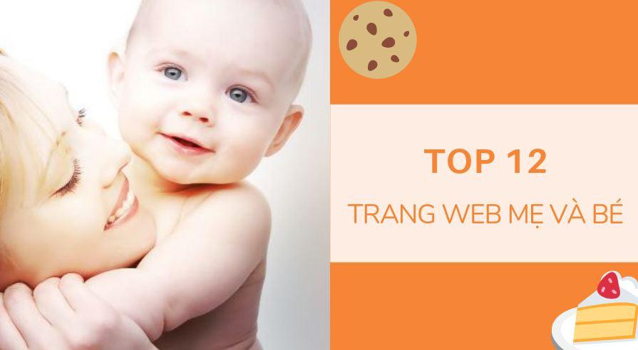các trang web mẹ và bé
