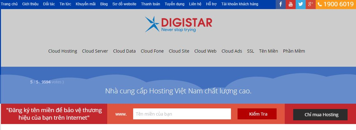 Công ty thiết kế website Digistar