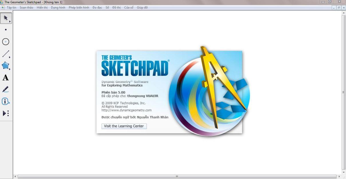 Ứng dụng giáo dục Geometer's Sketchpad