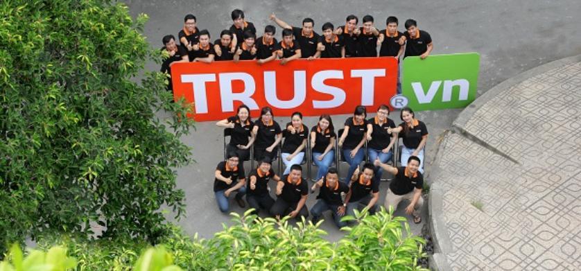 Đơn vị lập trình website Trust