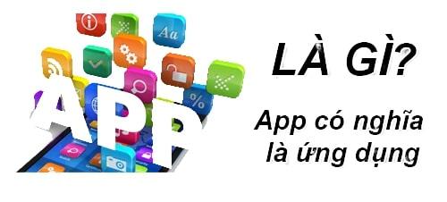 thiết kế ứng dụng di động
