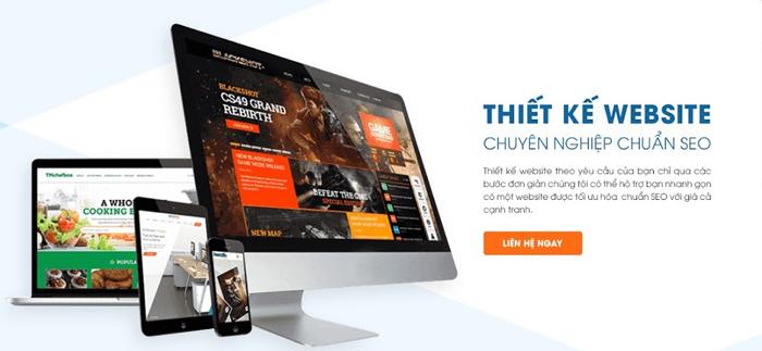 Dịch vụ thiết kế website trung tâm làm đẹp - Sky Việt Nam