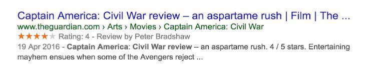 Review phim Captain America: Civil War của website theguardian.com