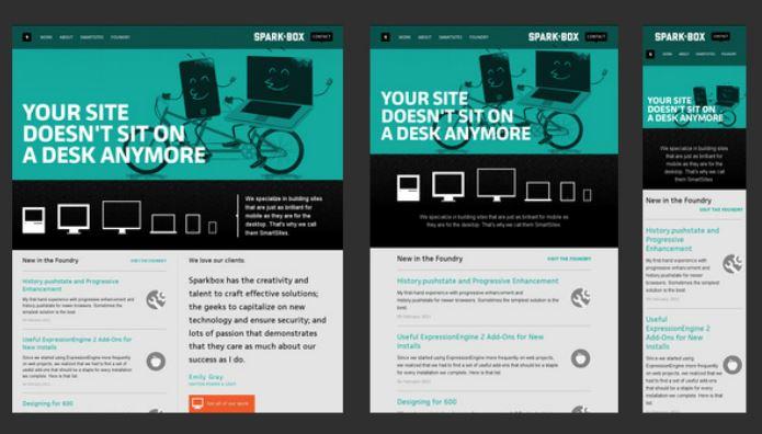 Thiết kế web chuẩn Responsive trông như thế nào?