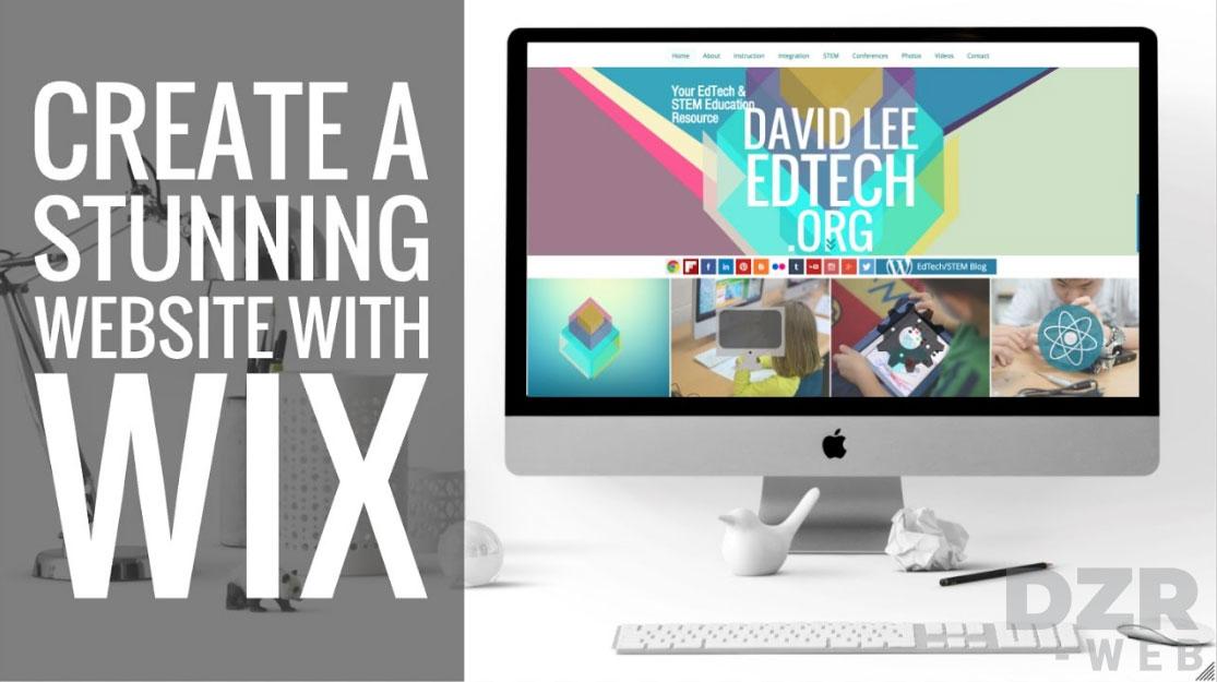 ưu điểm khi thiết kế website bằng Wix