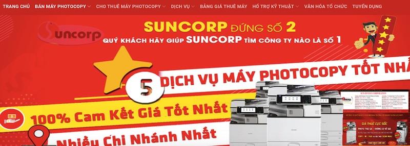 Suncorp - chuyên bán máy photocopy Toshiba Ricoh các loại