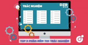 Top 9 phần mềm thi trắc nghiệm online