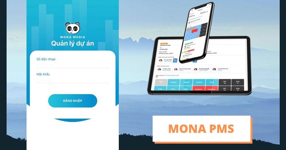 Mona PMS - Phần mềm quản lý dự án toàn diện
