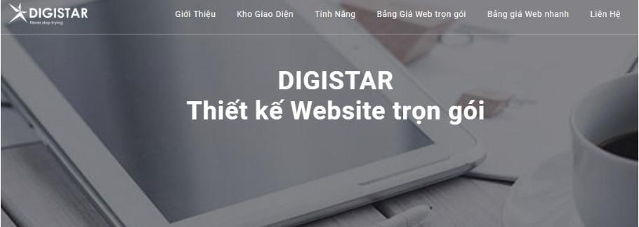 Dịch vụ thiết kế trang web Digiweb