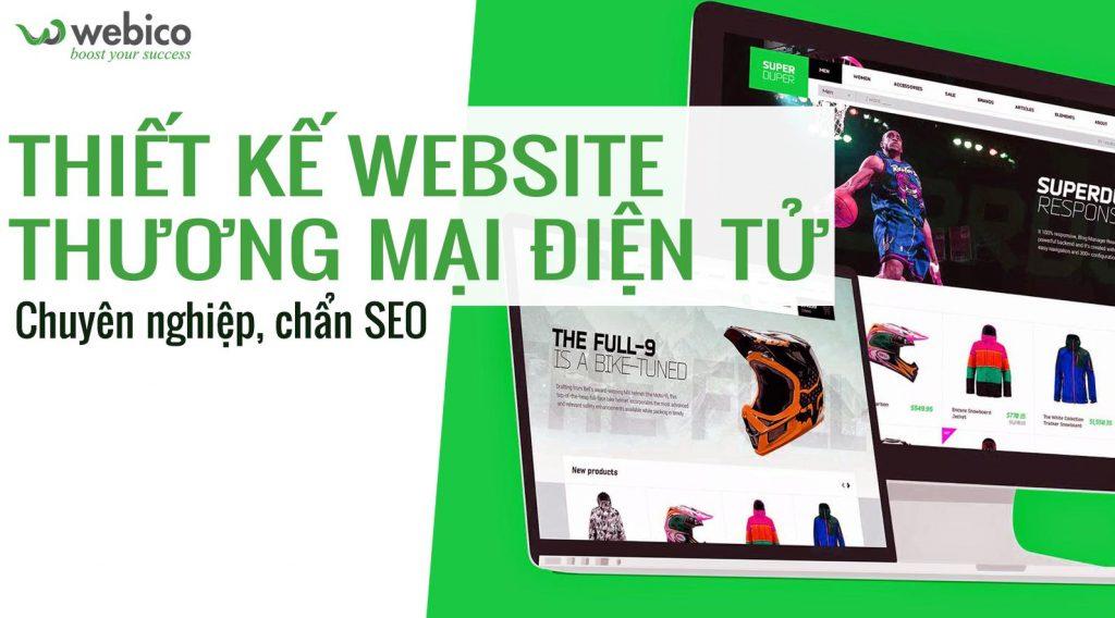 Đơn vị làm website Webico