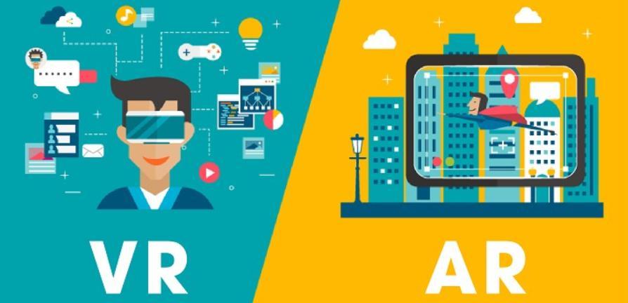 So sánh khác nhau của thực tế tăng cường AR và công nghệ thực tế ảo VR