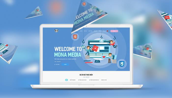 Công ty thiết kế website spa - Thẩm mỹ viện chuyên nghiệp Mona Media